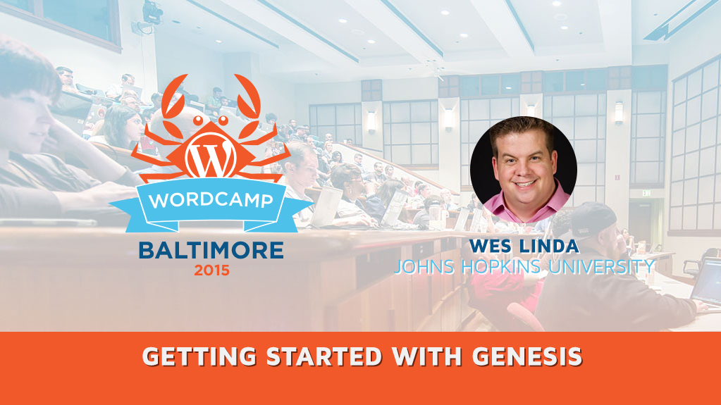 Getting Started with Genesis with Wes Linda