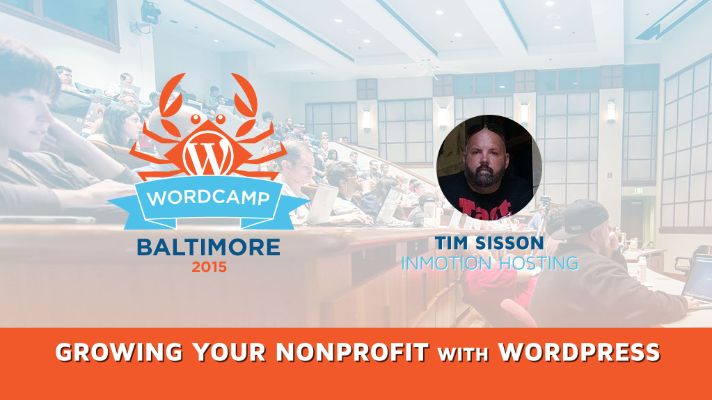 Growing Your Nonprofit with WordPress with Tim Sisson